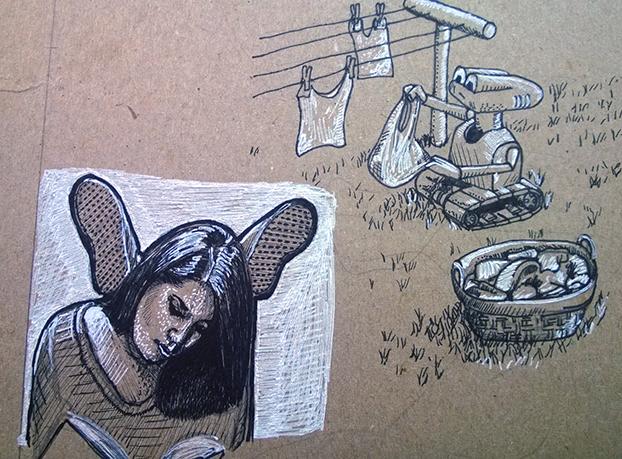 ink-sketch